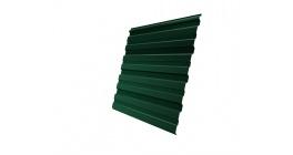 Профнастил фигурный Гранд Лайн (Grand Line) C10, 0,45 PE, зеленый мох фото