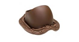 Проходной элемент VILPE MUOTOKATE для металлической кровли, шоколадный фото