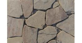 Песчаник рваный край серо-зеленый галтовка Гранит Групп, 20 мм фото