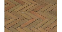 Клинкерная тротуарная брусчатка ручной формовки Penter Varia puur wasserstrich 200х50х85 мм фото