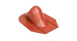 Проходной элемент VILPE HUOPA/SLATE для мягкой кровли, красный фото