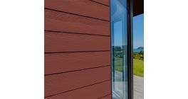 Фиброцементный сайдинг Cedral Click Wood C61 Красная земля, 3600*186*12 мм фото