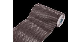 Гофрированная лента для примыканий F-2 LUXARD алюминий, коричневая фото