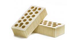 Кирпич керамический облицовочный пустотелый Керма Пшеничное лето бархат 1NF 250*120*65 мм фото
