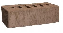 Кирпич клинкерный облицовочный пустотелый Kerma Premium Klinker Коричневый бархат 1NF 250*120*65 мм фото