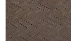 Клинкерная тротуарная брусчатка ручной формовки Penter Antraton, 200х50х65 мм фото