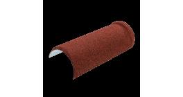 Конёк полукруглый LUXARD бордо, 395*148 мм фото