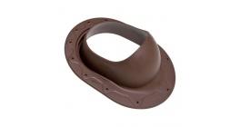 Проходной элемент VILPE CLASSIC для готовой мягкой кровли, коричневый фото