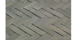 Клинкерная тротуарная брусчатка ручной формовки Penter Fico wasserstrich, 200х65х85 мм фото