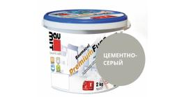 Затирка для швов Baumit Baumacol PremiumFuge цементно-серый, 25 кг фото