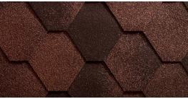 Мягкая кровля Icopal Antik натурально-коричневый (3 м2/уп) фото