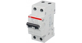 Автоматический выключатель ABB SH202L двухполюсный 10А тип B 4.5кА фото