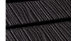 Композитная черепица Gerard Shake Deep black, 1250*371 мм фото