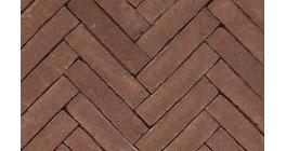 Клинкерная тротуарная брусчатка ручной формовки Penter Mastiek wasserstrich tumbled, 200х50х85 мм фото