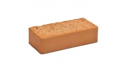 Кирпич печной Боровичи красный гладкий М150, 250*120*65 мм фото