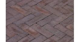 Клинкерная тротуарная брусчатка ручной формовки Penter Oliva, 200х65х85 мм фото