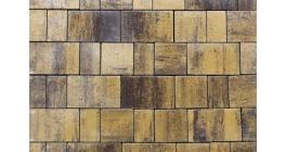 Тротуарная плитка ВЫБОР Старый город Листопад гладкий Янтарь, Б.1.Фсм.8 фото