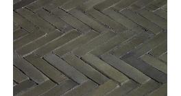 Клинкерная тротуарная брусчатка ручной формовки Penter Forresta wasserstrich, 200х50х85 мм фото