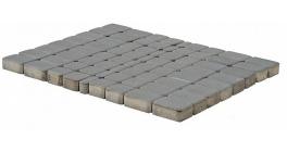 Тротуарная плитка BRAER Классико Серый, 60 мм фото