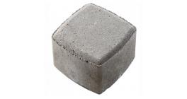 Тротуарная плитка МЕЛИКОН ПОЛАР Классика-1 1К.8 серый, 115x115x80 мм фото