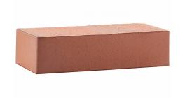 Кирпич керамический облицовочный полнотелый ЛСР красный флэш гладкий M250-500, 250*120*65 мм фото