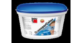 Фасадная краска на основе полимерного вяжущего Baumit GranoporColor, 14 л фото