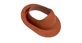 Проходной элемент VILPE CLASSIC для готовой мягкой кровли, кирпичный фото