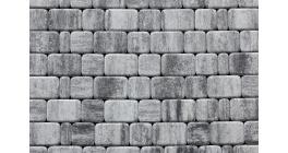 Тротуарная плитка ВЫБОР Классико Листопад гладкий Антрацит, Б.1.КО.6 фото