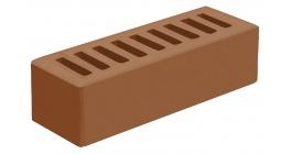 Кирпич керамический облицовочный пустотелый Голицынский КЗ Терракотовый гладкий 250*85*65 мм фото