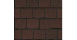 Мягкая кровля CertainTeed Highland Slate (2,98 м2/уп) Saddle Brown фото