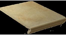 Клинкерная ступень флорентинер Stroeher Keraplatte Aera T 727 pinar, 340х294х12 мм фото