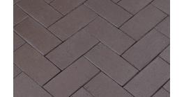 Клинкерная тротуарная брусчатка ручной формовки Penter Ares, 200х100х52 мм фото