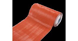Гофрированная лента для примыканий F-2 LUXARD алюминий, красная фото