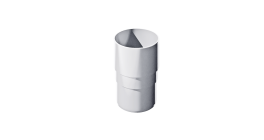 Муфта трубы ТехноНИКОЛЬ (Verat) белый, D 82 мм фото