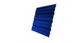 Профнастил фигурный Гранд Лайн (Grand Line) C20, 0,45 PE, сигнальный синий фото