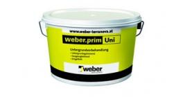 Универсальная акриловая грунтовка weber.prim Uni, 20 кг фото
