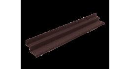 Прижимная планка (планка примыкания) LUXARD, коричневая фото