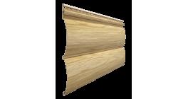 Виниловый сайдинг Docke Lux, Блок-Хаус под дерево, зрелый каштан, 3600*243*1 мм фото