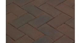 Клинкерная тротуарная брусчатка ручной формовки Penter Ombert, 200х100х80 мм фото