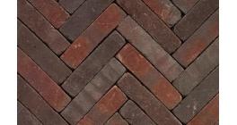 Клинкерная тротуарная брусчатка ручной формовки Penter Qualiton mix tumbled, 200х50х65 мм фото