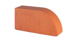 Кирпич керамический облицовочный радиусный полнотелый Lode Janka F17 гладкий 250*120*65 мм фото