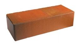 Кирпич керамический облицовочный полнотелый Terca Red flame редуцированный гладкий 250*85*65 мм фото
