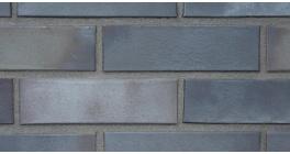 Кирпич клинкерный облицовочный пустотелый ABC 5654 Atlantis antrazit-grau gedampft гладкий 240*115*71 мм фото