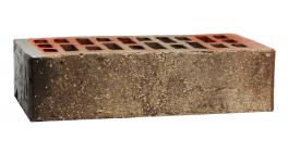 Кирпич керамический облицовочный пустотелый Konigstein Марксбург Умбра 1НФ УС, 250x120x65  фото