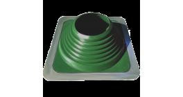 Кровельная проходка BORGE №4 d75-160 мм, зеленый фото