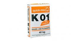Известково-цементный кладочный раствор quick-mix K01 40 кг фото