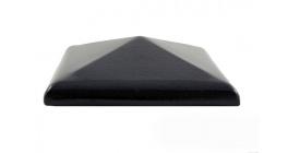 Колпак для забора ZG Clinker CP темно-коричневый 425*300 фото