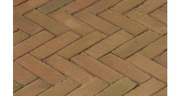Клинкерная тротуарная брусчатка ручной формовки Penter Varia puur wasserstrich 200х65х85 мм фото