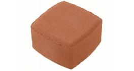 Тротуарная плитка МЕЛИКОН ПОЛАР Классика-1 1К.6 красный 3%, 115x115x60 мм фото