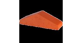 Перекрытие забора Lode Janka красный, 310*100*88 мм фото